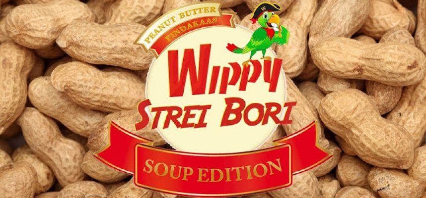 Wippy Strei Bori Soup Edition, eerste pindasoepwedstrijd in Su!