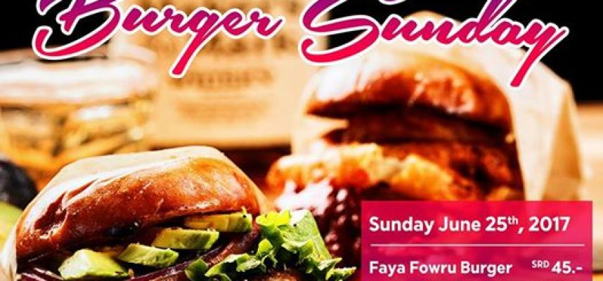 Burger Sunday Ad