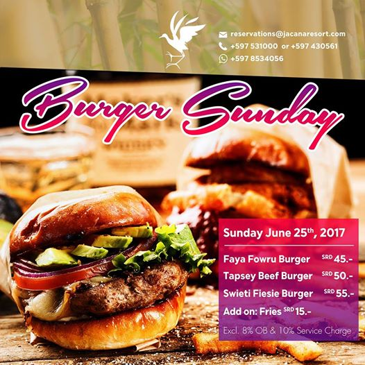 Burger Sunday