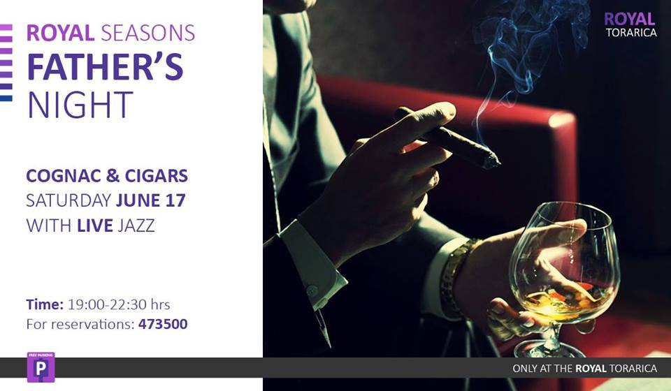 Father's Night Cognac & Cigars