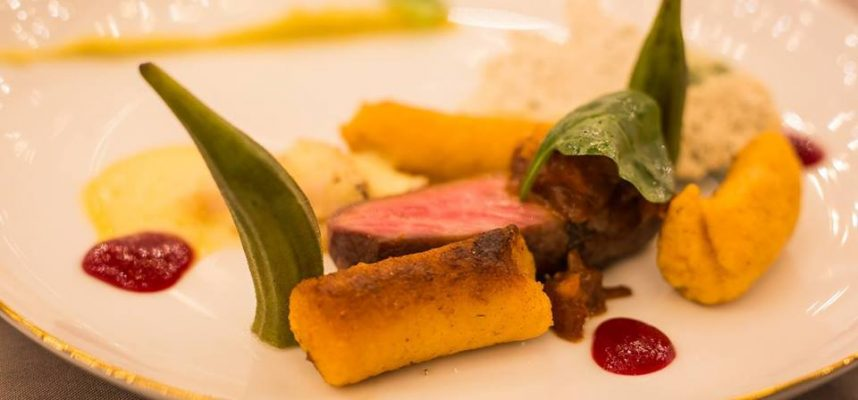 Gastronomy Dinner Plate