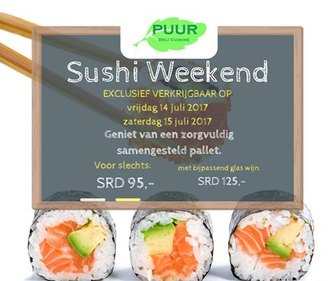 Sushi Weekend!