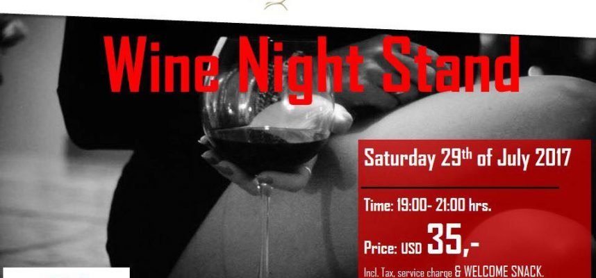 Wine night stand Jacana Resort- 29 uly 2017