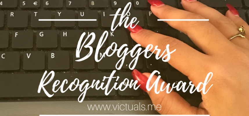 Bloggers Recognition Award