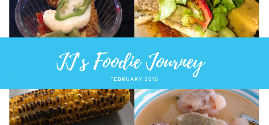 JJ's Foodie Journey - february 2019